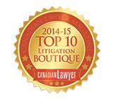 Canadian Lawyer Top10 2014 15