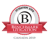 Benchmark Litigation Star - 2019